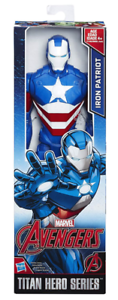 Marvel-avengers-Titan-Hero-Series-12-pouces-Iron-Patriot-ACTION-FIGURE-NEUF