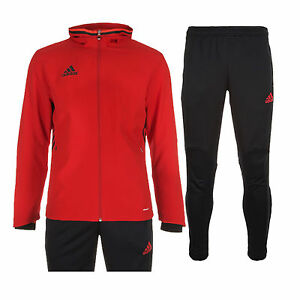 97361db437cf Details about Adidas Condivo 16 Tracksuit Presentation Suit Kids 3 Stripe  New