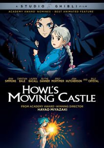 Howl-039-s-Moving-Castle-New-DVD-Widescreen