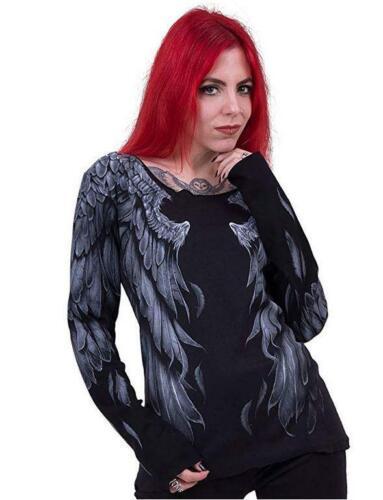 Langarm-Shirtfedern des Mädchens Seraphim Top Spiral Direct W031F455