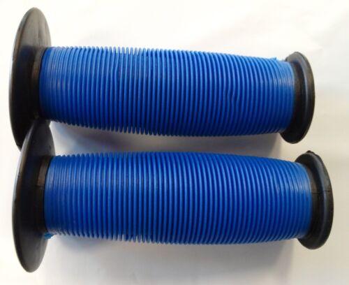 BMX OLD SCHOOL GRIPS Mushroom Grips Blue//black GRIPS GRIP NEW  Mushroom Grip