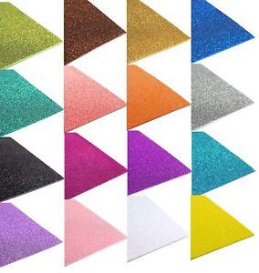 10 Pack Glitz Glam 12 X 18 Glitter Foam Sheet Diy Arts And