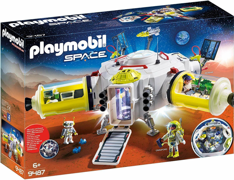 Playmobil Space 9487. Estación de Marte.  Más de 6 años. Con luz y sonido  jusqu'à 65% de réduction