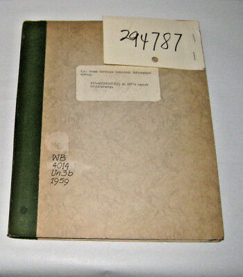 1959 Bio-astronautics Astia Report Bibliography Armed Services Technical Info Ag More Discounts Surprises
