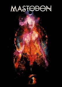 MASTODON-cd-lgo-The-Hunter-STARGASM-Official-SHIRT-LRG-new