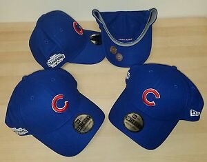 ad3eee778d5 Cubs New Era Royal 2016 World Series Champions hat w Side Patch 39 ...