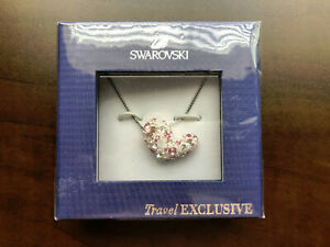 5340d77f9cd1b Details about New Swarovski If Te Alana Pendant Heart Necklace 871663 New  in Box