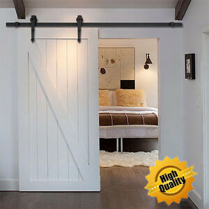 Image Is Loading 10FT Heavy Duty Modern Barn Wood Sliding Door