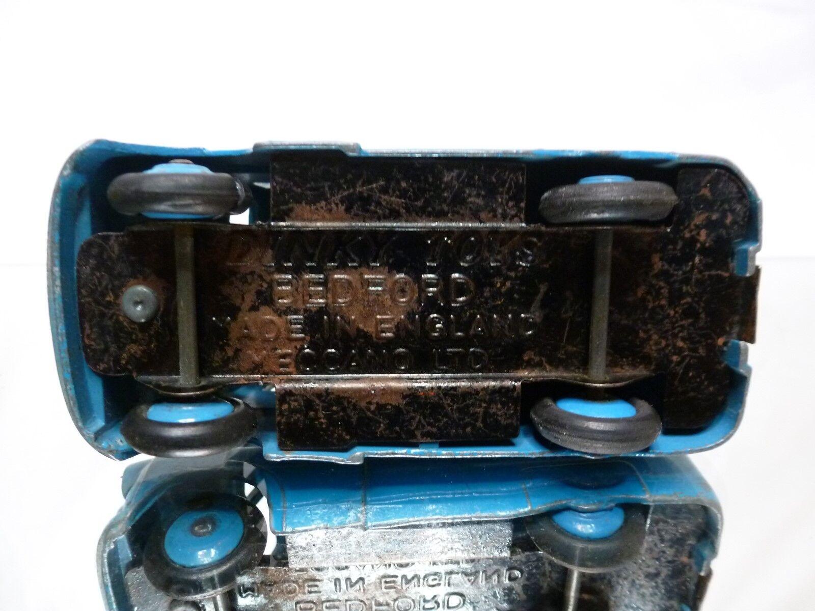 DINKY TOYS 481 BEDFORD 10CWT VAN OVALTINE 1 1 1 43 - RARE SELTEN - GOOD CONDITION 366fb8