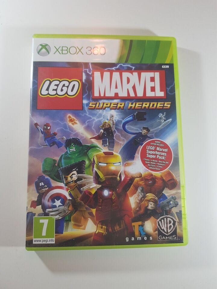 Lego Marvel super heroes, Xbox 360
