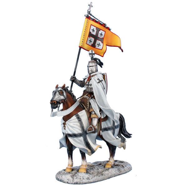 CRU107 Monterad Teutonsk Knight Standard Bearer av First Legion