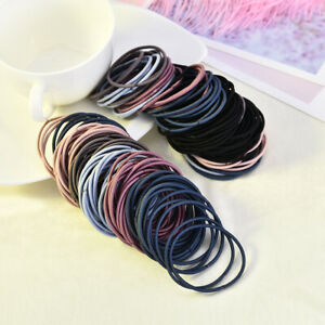 100-PCS-Cute-Kids-Girls-Elastic-Tiny-Hair-Tie-Band-Rope-Ring-Ponytail-Holder