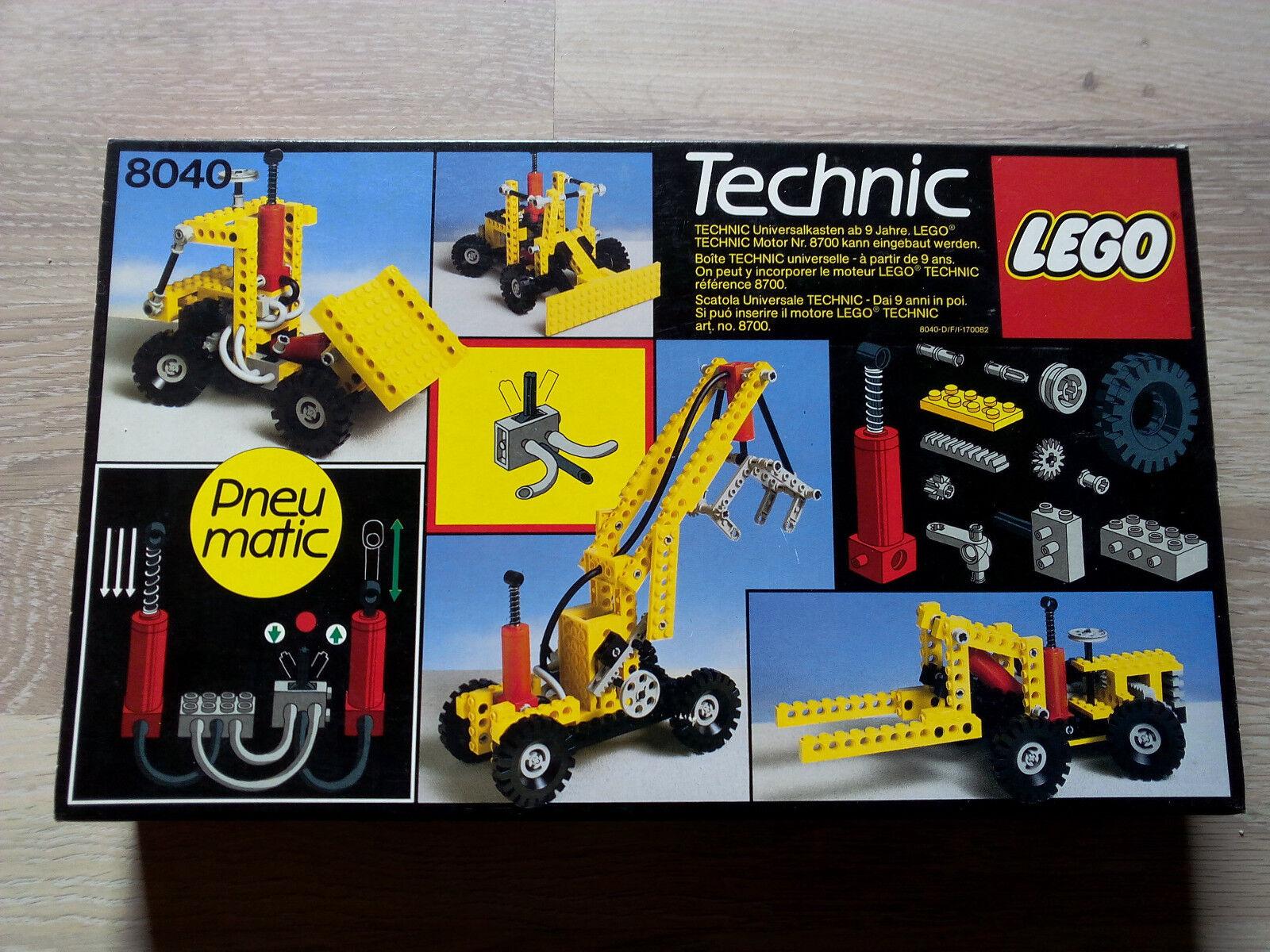 Lego Technic Technik 8040 Universal Pneumatic Set   NEU & OVP - RARITÄT