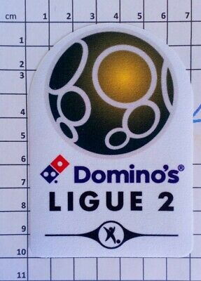 France Patch Badge Ligue 1 pour maillot de foot Monaco Champion 2017 17//18 10cm