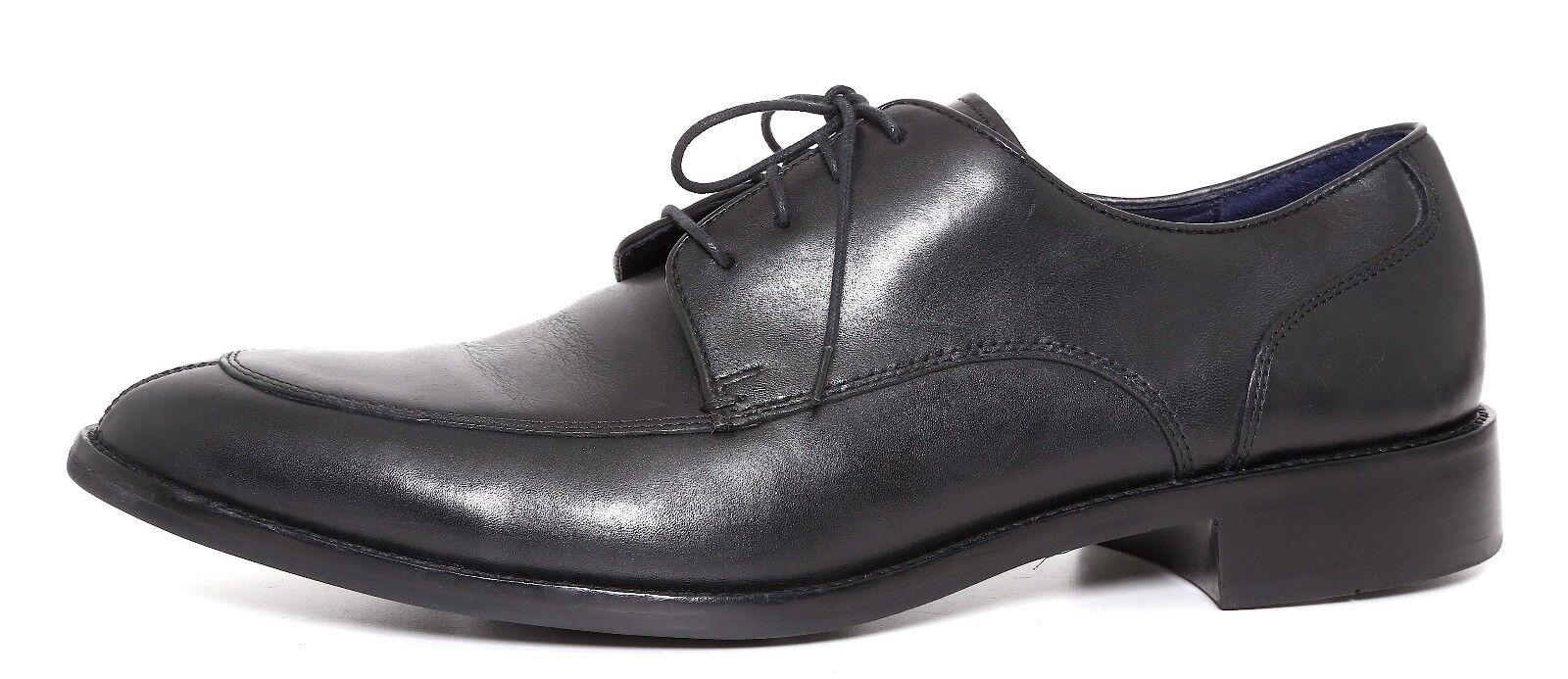 Cole Haan Lenox Hill Split Toe en Cuir Derby Noir Hommes Sz 10.5 m 1817