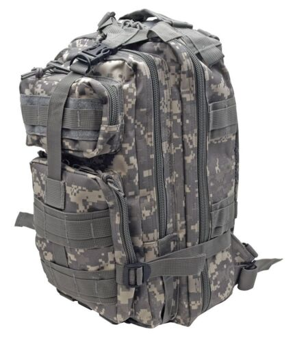 Moyen d/'Assaut Tactique Molle Sac à Dos Camping Randonnée Chasse Sac militaire camouflage