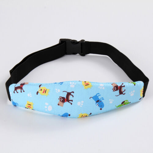 Baby Car Stroller Head Strap Kids Safety Seat Sleep Aid Adjustable Band 1PC