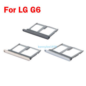 For LG G6 H870 H871 H872 LS993 VS998 Nano Sim Card Tray SIM Tray Slot Holder new
