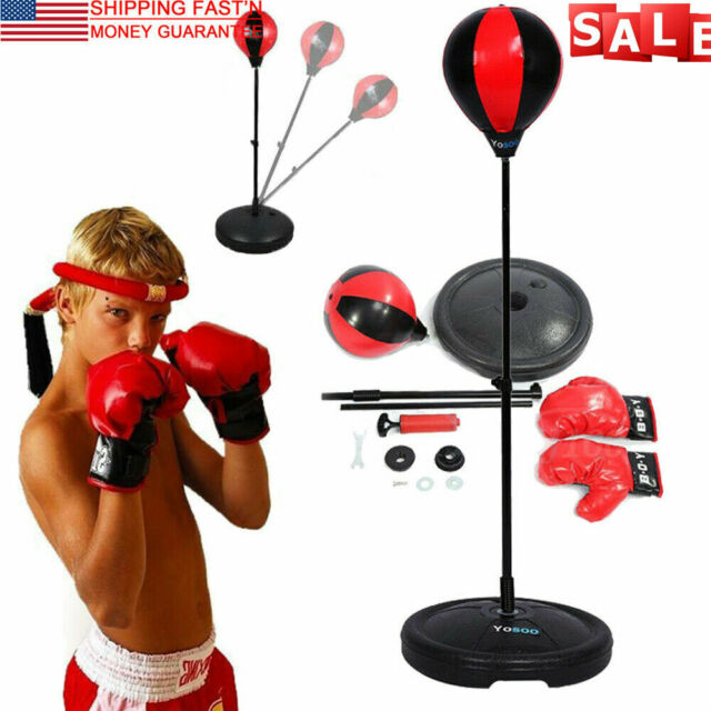 ASTSTAND Heavy Duty Adjustable Speed Bag Boxing Equipment Ball