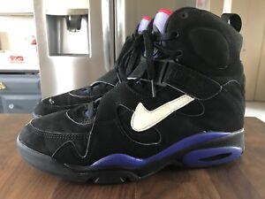 more photos 4c833 c8de8 Image is loading RARE-Vintage-1993-Nike-Air-Force-Basketball-Shoes-