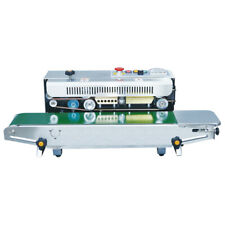 Fr 900s Continuous Band Sealer And Bag Sealing Machine With Date Steel Printing
