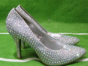 new ladies stone Silver 4\