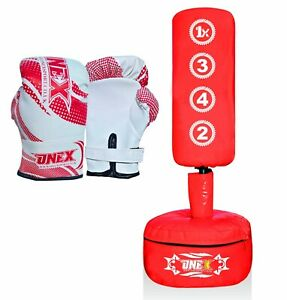 Free-Standing-Boxing-Punch-Heavy-Duty-Punching-Bag-Stand-Frame-for-Kickboxing-U7
