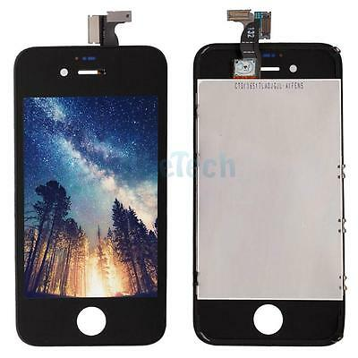 Repair LCD Touch Screen Digitizer Glass Assembly Part for iPhone 4S Black HK
