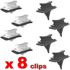 FORD TRANSIT FRONT WINDSCREEN SIDE TRIM CLIPS A PILLAR V184 - 8 MOULDING CLIPS