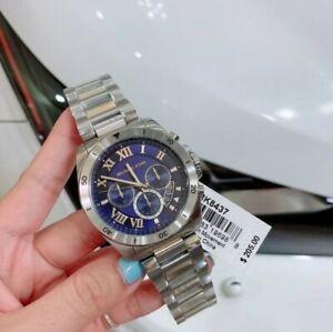 Sale! Michael Kors Men's Brecken Two-tone Chronograph Watch MK8437