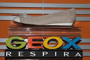 GEOX SCARPA DONNA MOCASSINO PELLE/CAMOSCIO D FRAGRANCE F D22T5F 02166 GRIGIO/BCO