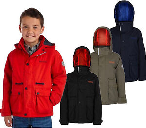 54e1f7c14 RRP £50 REGATTA BOYS THERMO-GUARD INSULATED WATERPROOF JACKET Rsshp ...