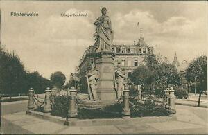 Ansichtskarte Fürstenwalde Kriegerdenkmal 1916  (Nr.896)