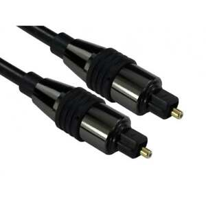 3-m-metre-optique-Cable-audio-numerique-Toslink-SPDIF-Surround-Sound-Plomb-Noir