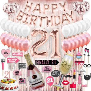 Magnificent 21St Birthday Decorations 21 Birthday Party Supplies 21 Cake Funny Birthday Cards Online Alyptdamsfinfo