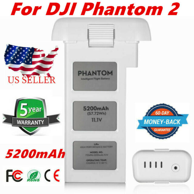5200mAh Battery For DJI Phantom 2 Vision+ Drone 3S Intelligent Flight 11.1V UB