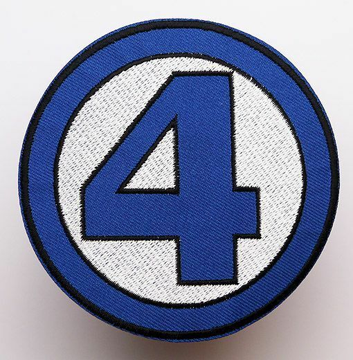 FANTASTIC FOUR Team Marvel Uniform / Costume Movie Iron-On Embroidered Patch NEW