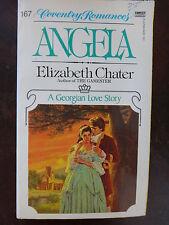 Angela by Elizabeth Chater (1982) - Regency PB