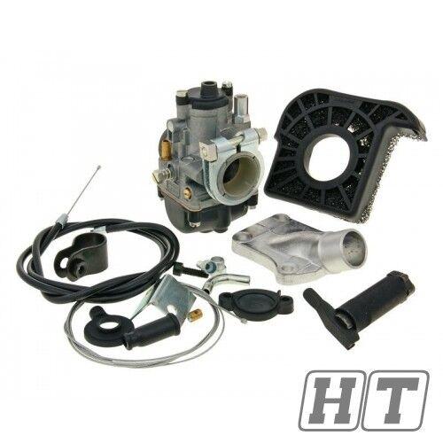 Vergaser Kit Set Malossi PHBG 21 A mit Klemmflansch für Honda Camino Mofa