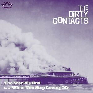 THE-DIRTY-CONTACTS-The-World-039-s-End-heavy-vinyl-7-034-garage-punk-X-Men-Cannibals