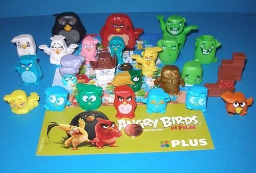 Komplettsatz Angry Birds Red und andere! Alle 25 unterschiedliche Figuren