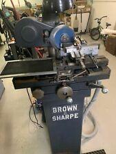 Brown Amp Sharpe No5 6 38swing X 175capacity 14hp Tool Amp Cutter Grinder