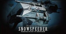 Bandai 1/48 T-47 Airspeeder Snowspeeder Plastic Model Kit Star Wars USA Seller