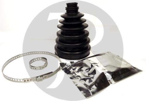 PEUGEOT 406 2.0 HPi DRIVESHAFT HUB NUT /& CV JOINT BOOT KIT BOOTKIT 01/>04