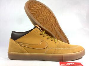 8dd7c1166b New! Nike SB Portmore II Solarsoft Mid Bota - AJ6978-779 Bronze ...