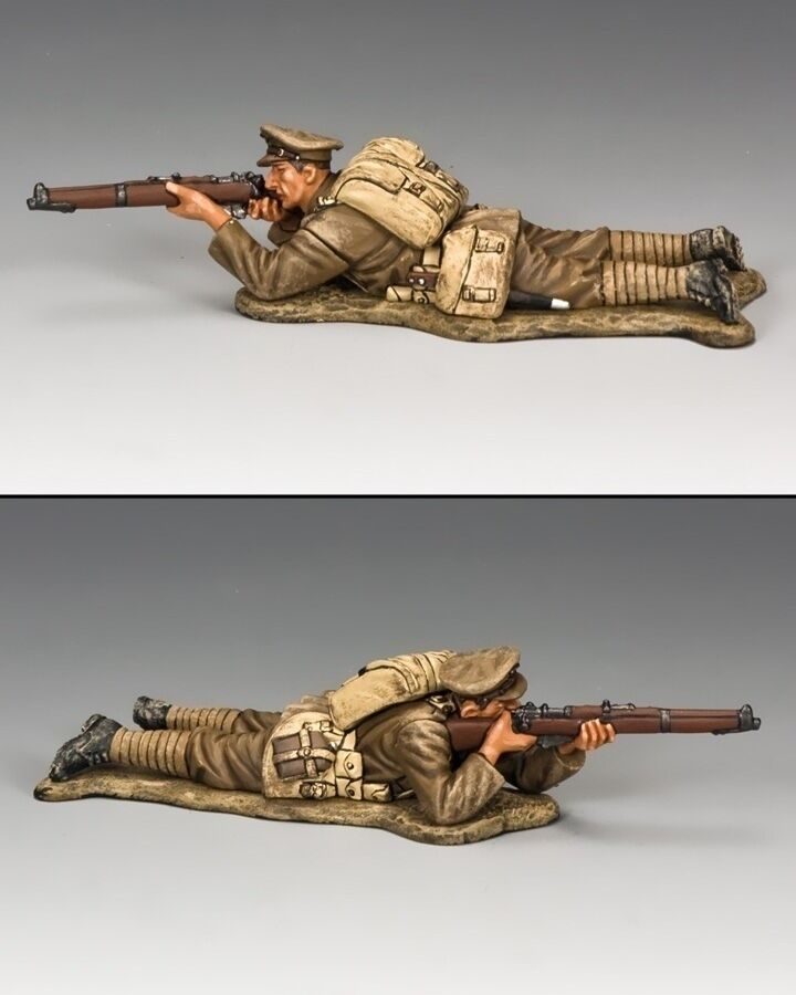 KING AND COUNTRY WW1 British Lying Prone  FW143