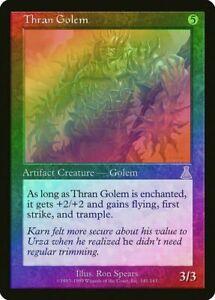 MTG-Thran-Golem-FOIL-Urza-039-s-Destiny-PLD-SP-Artifact-Rare-NM