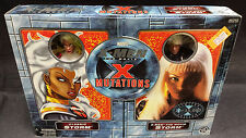 X-MEN MUTATIONS CLASSIC & MOVIE STORM FIGURE PACK - TOY BIZ MARVEL REAL COSTUME
