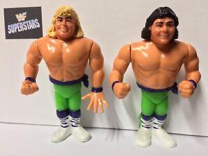 WWF-ROCKERS-MICHAELS-amp-JANETTY-WRESTLE-FIGURE-HASBRO-1991-SERIES-2-TAG-TEAMS-WWE