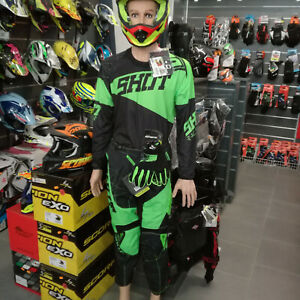 Together-cross-Enduro-Shot-Helmet-Football-Jersey-Gloves-Trousers-Size-Option